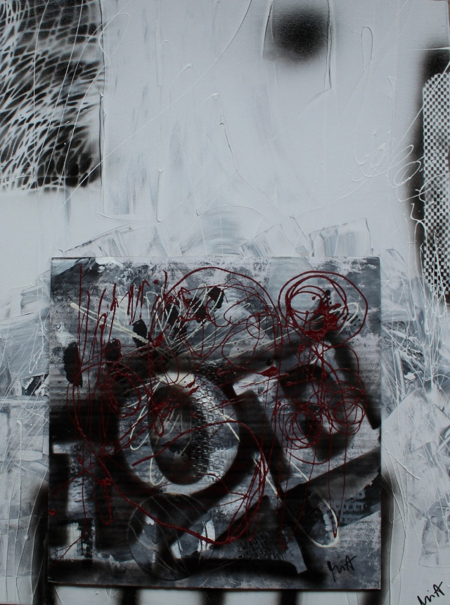 08.12.2007 Moderne Malerei von MIA Sabine Groll im Annahof ...